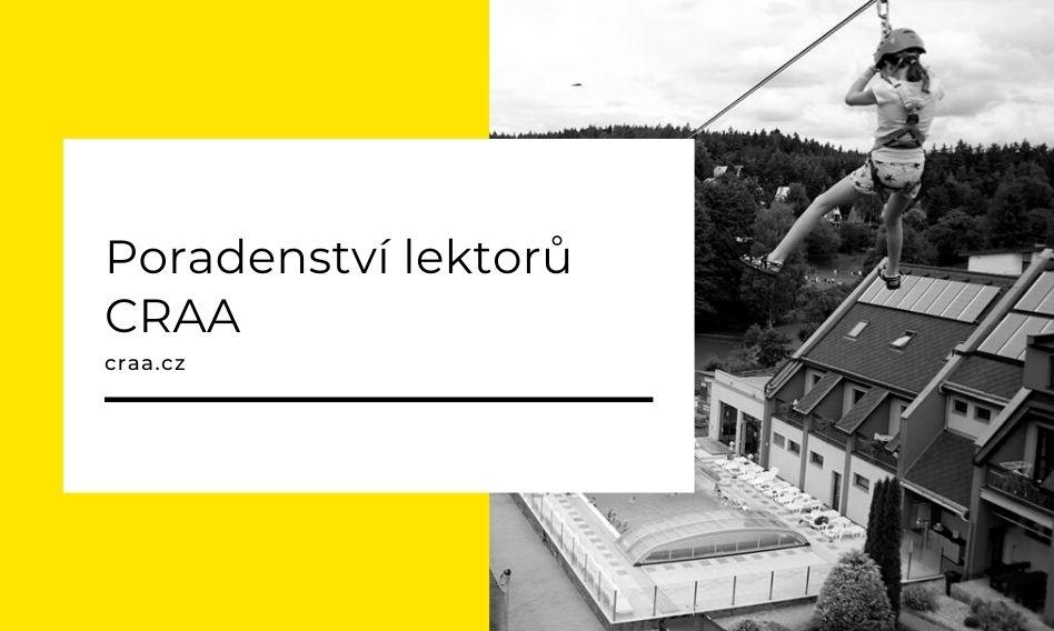 (Čeština) Poradenství lektorů CRAA