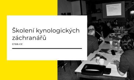 (Čeština) Školení kynologických záchranářů