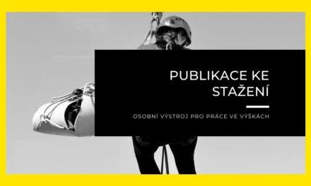 (Čeština) Osobní výstroj pro práce ve výškách – nový článek v knihovně