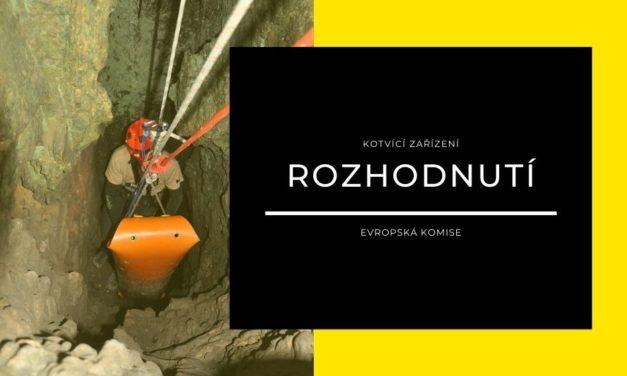 (Čeština) Rozhodnutí EK k vlastnostem kotvicích zařízení