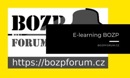 (Čeština) E-learning BOZP zdarma díky BOZPforum