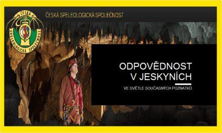 (Čeština) Odpovědnost v jeskyních ve světle současných poznatků