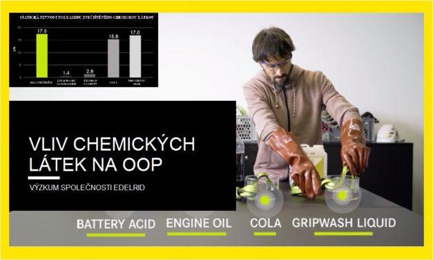(Čeština) Vliv chemických látek na textilní OOP