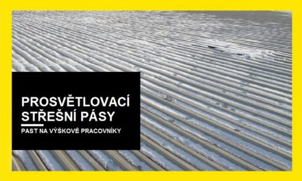 (Čeština) Prosvětlovací střešní pásy – past na výškové pracovníky