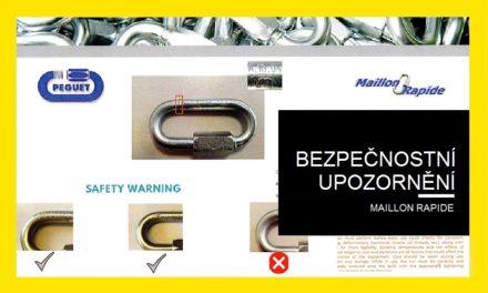 (Čeština) Bezpečnostní upozornění – Maillone Rapide