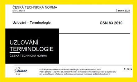 (Čeština) ČSN 83 2610 – Nová norma zabývající se uzlováním